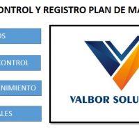 MACRO EXCEL PARA GESTIÓN DE PLANES DE MANTENIMIENTO PREVENTIVO