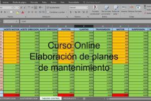 CURSO ONLINE DE ELABORACIÓN DE PLANES DE MANTENIMIENTO
